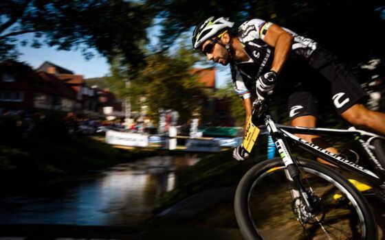 спорт, спортсмен, bikes, велоспорт, игра, широкоформатные, mountain,