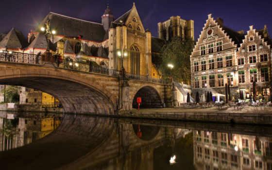 брюгге, город, бельгия