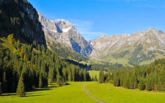 энгельберг, горы, швейцарии, swiss, фото, landscape, природа, янв, озеро, map,