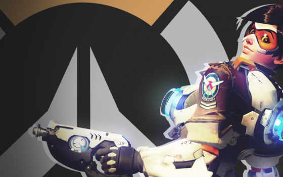 overwatch, tracer, art, games, cyber,