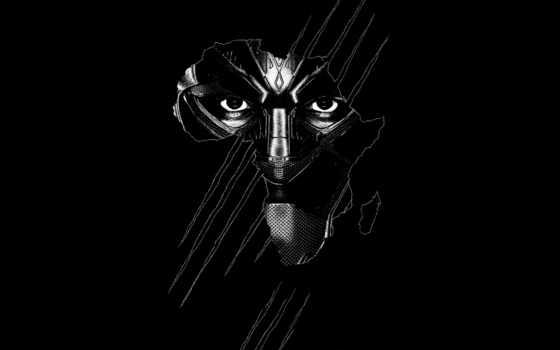 черная, panther, black, сниматься, плакат, marvel, ужасный, give, тег