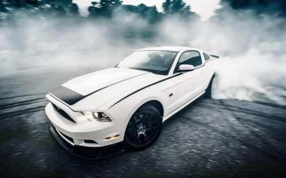 ,ford, mustang, скорость, rtr, дорога, sportcar, car, машина,