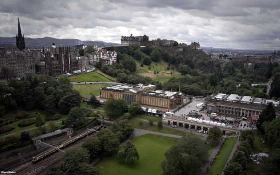 эдинбург, шотландия, castle, scotia, изображение, города, desktop, cities,