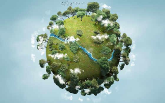 planet, зелёная, изображение, малая, скачивайте, качества, высокого, дешевые, стоковых, изображений, box,