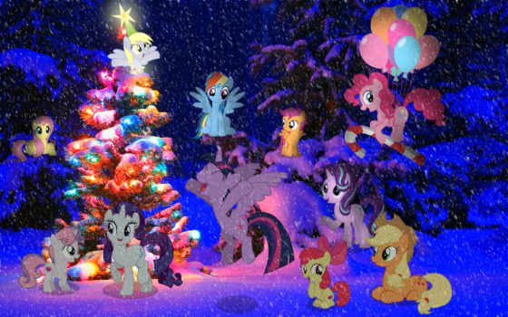 christmas, holidays, images, stars, пони, xmas,