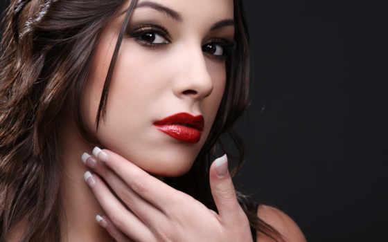 макияж, smoki, ais, красной, помадой, помаде, красная, красную, макияжа, lady, брюнеткам,