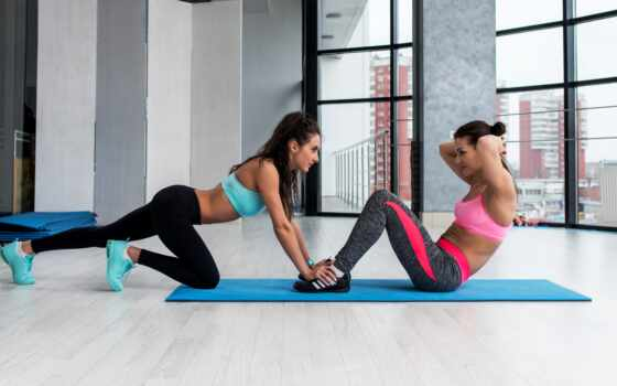 abdominal, фитнес, женщина, melhor, definir, forma, treino, qual