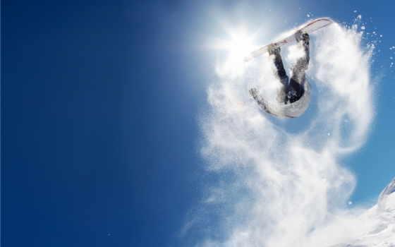 сноуборд, снег Фон № 5372 разрешение 2560x1600