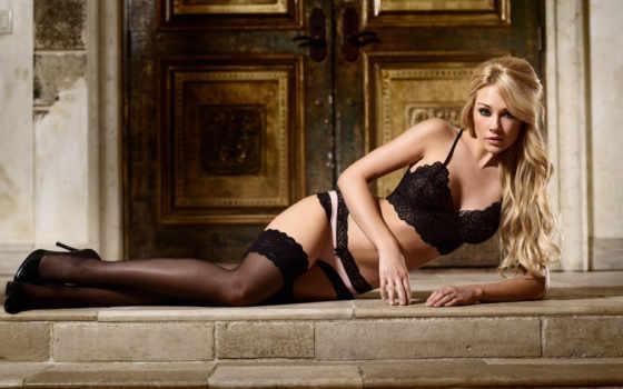 lisa, gleave, блондинка, чулки, девушка, белье, нижнее, девушки, girls,