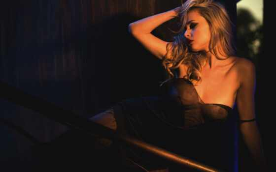 девушка, blonde, эротический