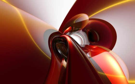 абстракция, красная, разных