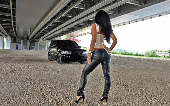 девушка, rover, картинка