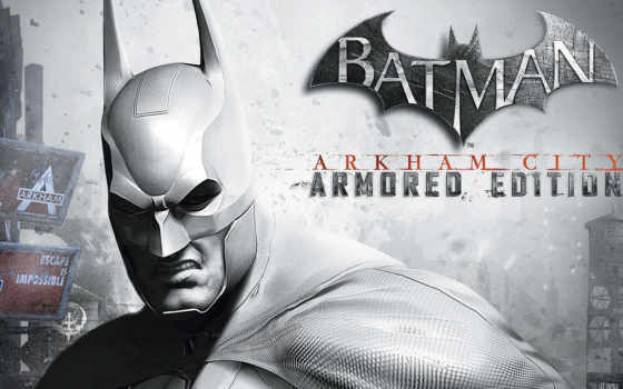 город, batman, arkham, armored, издание, wii,