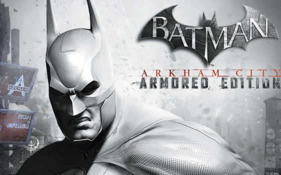 город, batman, arkham