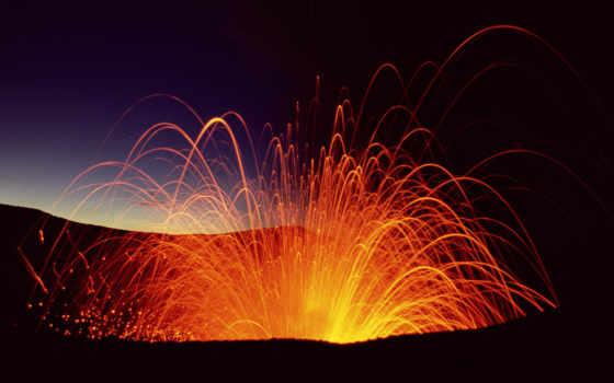 ясур, вулкан, вануату, tanna, футажи, вулканы, вулкан,