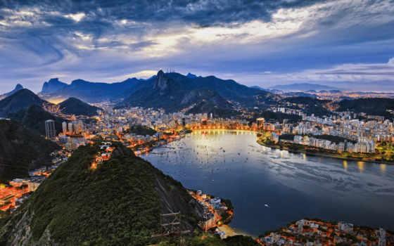 brazilian, copacabana, туры, пляж, rio, день, город, рио,