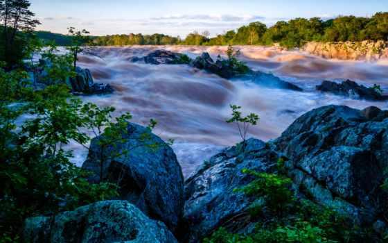природа, manzara, resimleri, река, belongs, other,