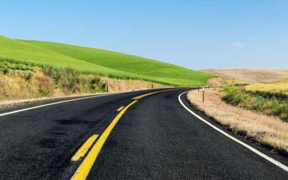 природа, дорога, сша, дороги, асфальт, фотографий,