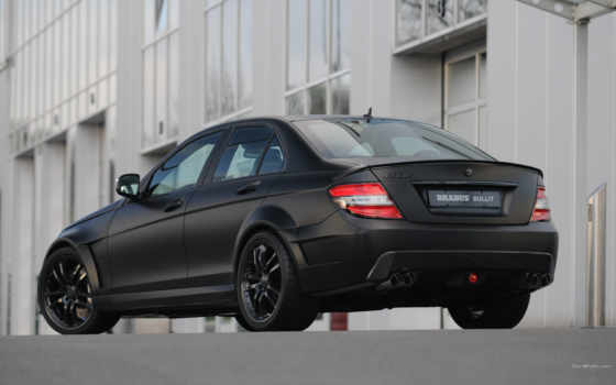 brabus, bullit, black, arrow, mercedes, benz, rear, car, class,