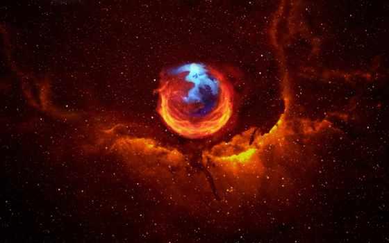 firefox, nebula