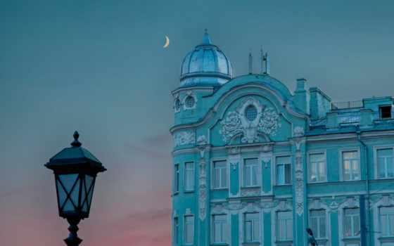 город, коллекция, луна,