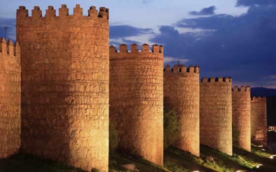 age, empires, castles, испания, dusk, art,