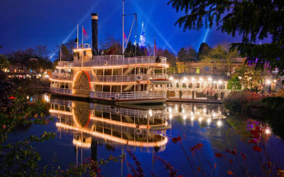 disneyland, park, california