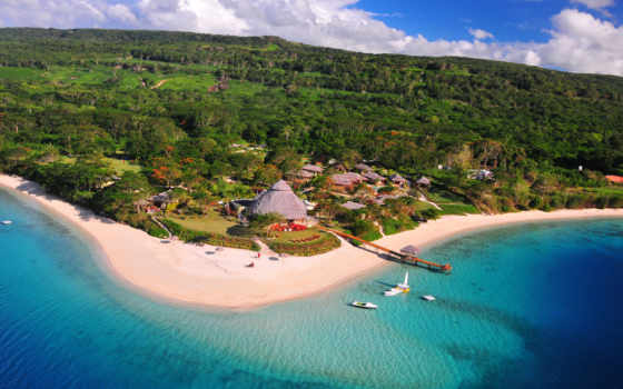вануату, pacific, природа, побережье, ocean, south, scenery, tropics, деревня,