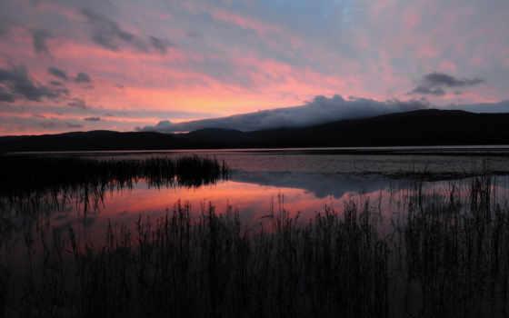 озеро, горы Фон № 22538 разрешение 1920x1200