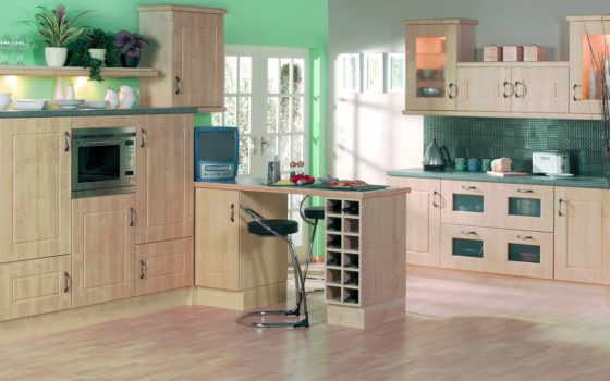 кухни, dizain, interer