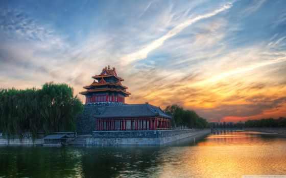 china, река, water