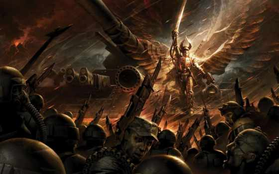 warhammer, рассвет, war