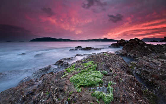 mediterranean, побережье, free, изображение, widescreen,