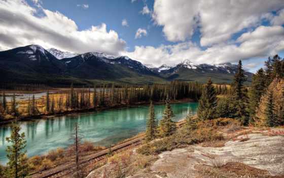 природа, красивая, sigulda, горы, olya, природы, pin,