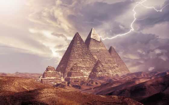 pyramide, secret, lightning, ван