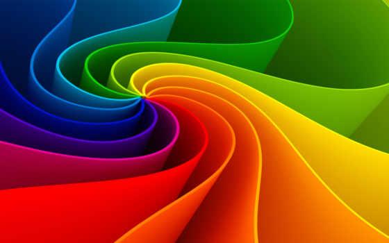 abstract, радуга, изгиб