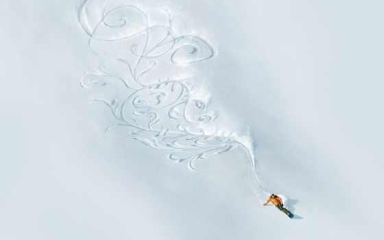 сноуборд, snow, фрирайд