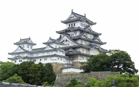 замок, химэдзи, япония
