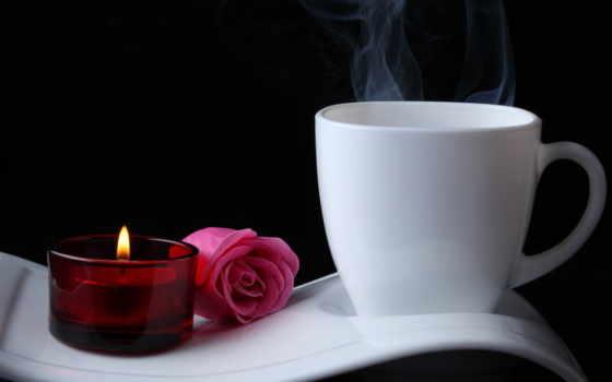 романтика, love, coffee, сердце,