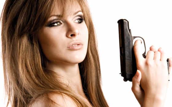 пистолет, stock, девушка, gangster, shutterstock, фото, images,