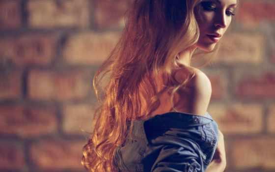 девушка, волосами, аватар, длинными, очень, красивой, пол, оборота, portrait, фото, long,