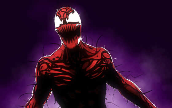 carnage, marvel, comics, мужчина, паук, artwork, cletus,