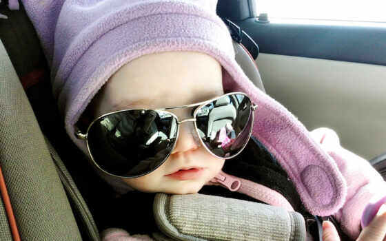 baby, sunglass