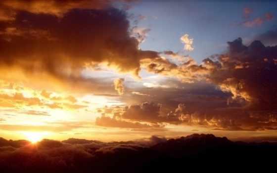 облака, wallpapers, обоев, wallpaper, hd, desktop, and, sky, amazing, sunset, nature, british, канада, mountain, cloud, clouds, columbia, whistler, sight,