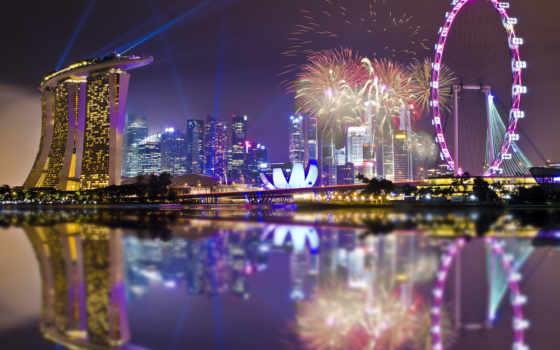 singapore, bay, gardens