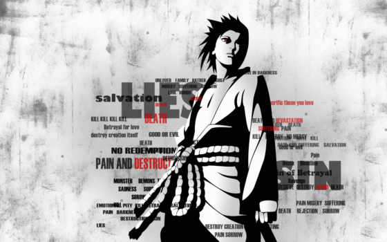 sasuke, naruto, учиха