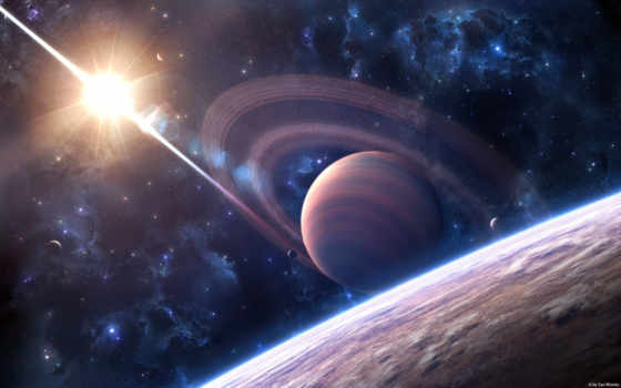 galaxy, звезды, свет