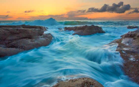water, ocean, море