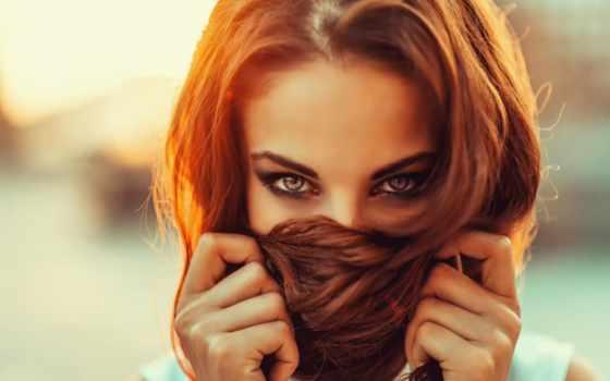 eyes, девушка, desktop, blue, redhead, free, insp,