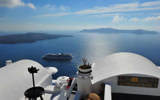 santorini, greece, greek, море, landscape, oia,